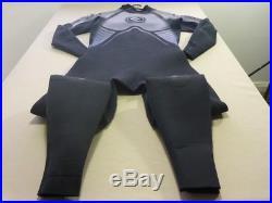 058 Mens Ex-cond Rip Curl Raptor 3.2mm Blk / Foil Full Wetsuit Sze XL $430 Rrp