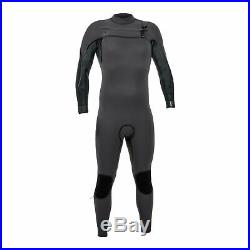 2019 O'Neill Psycho One 4/3MM Mens Chest Zip Full Wetsuit, Graphite, Jet Camo