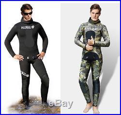 3.5mm Men's Wetsuit Yamamoto Thermal Waterproof Full Body Deep Diving Suit