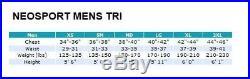 5/3mm NeoSport Men's Triathlon Sprint Full Tri Suit Wetsuit
