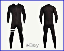 5/4/3 Front Zip Full Body Wetsuit Vertical Chest Zip Stripe 5/4/3mm 5mm 4mm 3mm