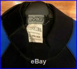 $600 BARE 7mm Supra Arctic Full Cold Scuba Diving Drysuit Wet Suit Mens Medium