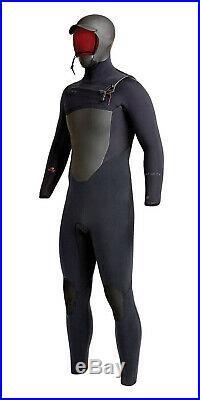 6/5mm Men's XCEL DRYLOCK Hooded Full Wetsuit