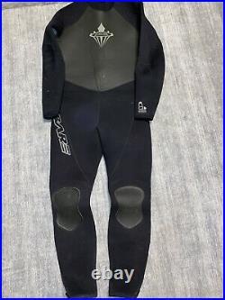 7mm BARE Men's Elastek Full Stretch Scuba Diving Wetsuit XL Cold water Metalite