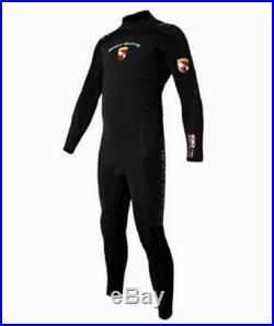 7mm Body Glove Men's EXO Full Scuba Dive Wetsuit Jumpsuit Size Medium