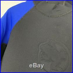 AKONA ADVENTURE GEAR Black Blue Neoprene Full Body Wetsuit Surf Size 5XL