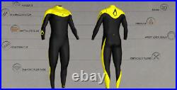 Agent 18 3/2 mm Full Wetsuit XS Extra Small Agent Eighteen Surfing Blue Black