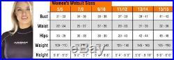 Akona AKMS609 Quantum Stretch 5mm Full Wetsuit 3XL MaleShips Worldwide