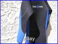 Aqua Lung 7mm Full body Wetsuit Mens XXL SCUBA