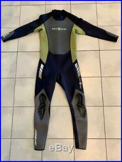 Aqua Lung Men's HydroFlex 3mm wetsuit XL (full length, back zip)