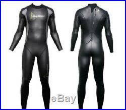 Aqua Sphere Mens Aqua Skins Full Suit Skin Mens Open Water Wetsuit Swim Rrp £250