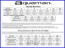 Aquaman ART Full Sleeved Triathlon Wetsuit Men's X-Large 2017