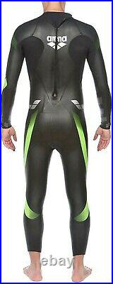 Arena Mens Triathlon Wetsuit Triwetsuit Full Sleeve Neoprene, Large