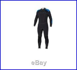 BARE 5mm Men's Elastek Full Wetsuit for Scuba Diving Freediving Size 3XL BLUE