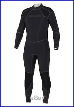 BARE 5mm Men's Elastek Full Wetsuit for Scuba Diving Freediving Snorkeling 4XL