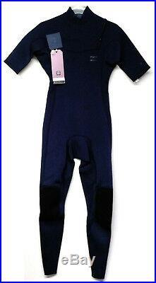 BILLABONG Men's 202 REVOLUTION TRI-BONG CZ S/S Full Wetsuit SLA Large NWT