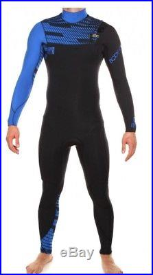 BNWT Mens Body Glove CT Full Wetsuit 3/2mm Blue/black RRP £190 Size MS