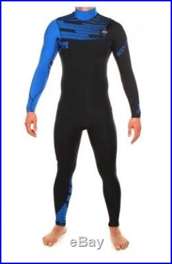 BNWT Mens Body Glove CT Full Wetsuit 3/2mm Blue/black RRP £190 Size MT