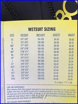 BNWT Mens Body Glove CT Full Wetsuit 3/2mm Blue/black RRP £190 Size Small