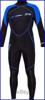 Bare 3/2mm Sport S-Flex Full Scuba Diving Wetsuit Men's Blue