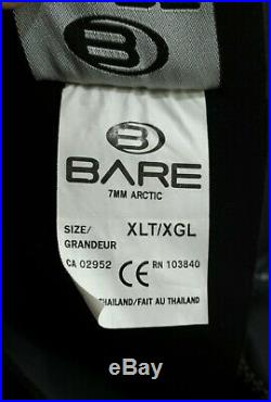 Bare 7mm Arctic Full Mens Suit size EXTRA LARGE TALL XLT