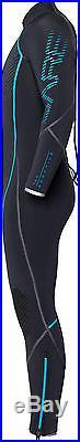 Bare 7mm Reactive Full Scuba Diving Wetsuit Men's (All sizes) Blue