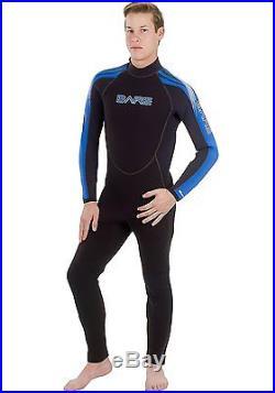 Bare 7mm Velocity Full Suit Super-Stretch Wetsuit, Men's