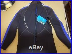Bare 7mm Velocity Full Suit Super-Stretch Wetsuit, Men's xl