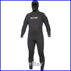Bare 8/7mm Velocity Semi-Dry Hooded Full Suit