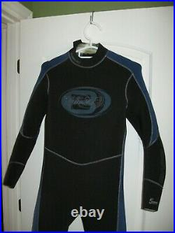 Bare Alastek Men's 5mm Full Wetsuit Sz L Short Scuba Dive Used In Good Cond