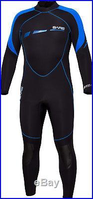 Bare S-Flex Full Men's Full 7mm Scuba Diving Wetsuit (USED) 2XL