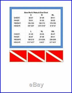 Bare Sport S-Flex 3/2mm Full men's wetsuit Multi-sport scuba diving