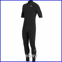 Billabong 2/2 Revo Pro Chest-Zip Short-Sleeve Full Wetsuit Men's