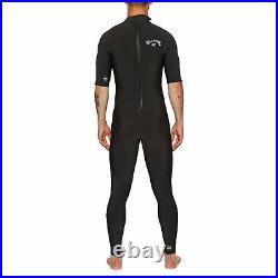Billabong 2/2mm Abso Flatlock Full Mens Surf Gear Wetsuit Black All Sizes
