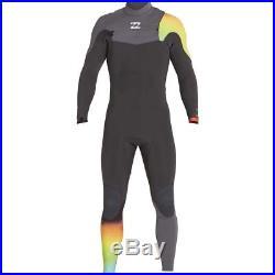 Billabong 3/2 Furnace Comp Chest Zip Full Wetsuit Men's