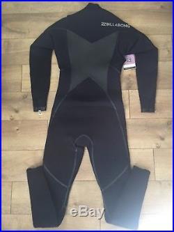 Billabong 4/3 Absolute X Chest Zip Full Wetsuit Men's Size M