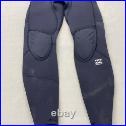 Billabong Absolute Comp 4/3 Wetsuit Comp Chest Full Suit- Mens Long Sleeve