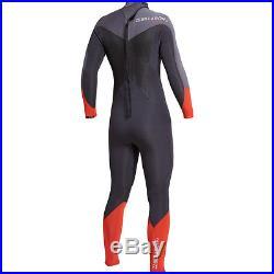 Billabong Mens M Mt L XL Wetsuit 5/4 Absolute Comp 5mm Full Steamer Surf Orange