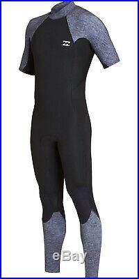 Billabong Mens Wetsuit Absolute Furness Short Arm Grey Full Length Wetsuit 2019