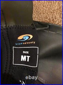 BlueSeventy Helix Men's Full Sleeved Triathlon Swim Wetsuit Size Medium Tall MT