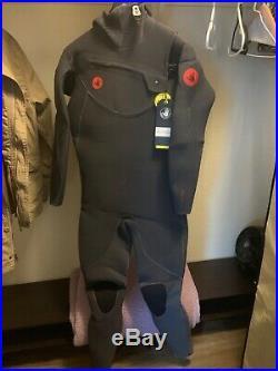 Body Glove Red Cell Slant Zip 5/4/3mm Hooded Full Wetsuit Men's XL