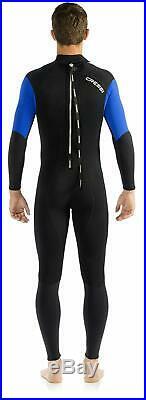 Cressi Morea 3mm Men's Full Suit Diving Snorkeling Wetsuit Size X-Large