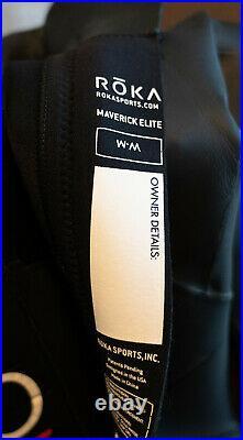 Excellent Condition Womens Roka Maverick Elite Full Wetsuit Medium (Triathlon)