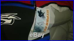 HYPERFLEX RED WHITE BLUE USA PATRIOTIC FULL BODY WETSUIT MENS SIZE XL NEW WithTAGS