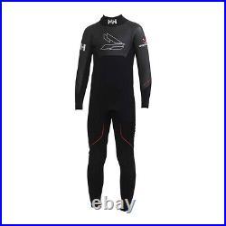 Helly Hansen Full Length Mens Swimming Triathlon Fullsuit Wetsuit Black XXL