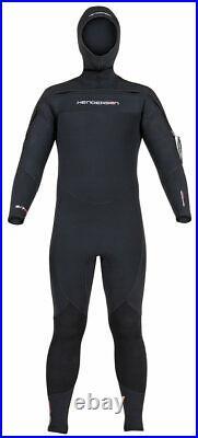 Henderson Men's 8/7mm Front Zip Semi Dry Hooded Full Suit