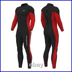 Hevto Wetsuits Men 3mm Neoprene Full Scuba Diving Suits Surfing Swimming Long XL