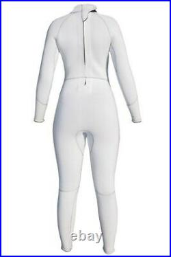High Quality Full Wetsuit White Empress White Womens 3/2mm FREE SHIPPING