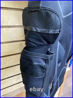 Hollis Neotek 8/7/6mm Semi-Dry Hooded Full Scuba Diving Wetsuit Men's Size ML