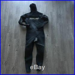 Hotline Ultra Hot Combo UHC Full Body Wetsuit Millennium Series 5/4mm Mens XXL